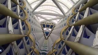 INside BURJ AL ARAB HOTEL برج العرب