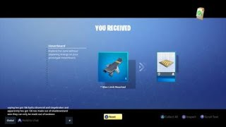 Fortnite save the world how to get the hoverboard