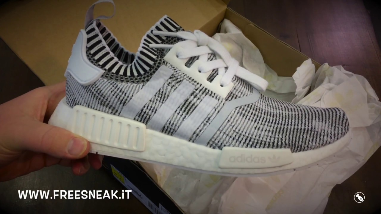 100102846e2b Unboxing Adidas NMD R1 PK Glitch Camo Nera BY1911 - YouTube