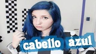 Teñir pelo de AZUL en casa ✩ (decoloración y tintura) ✩ OTOWIL / blue hair tutorial - hair bleaching