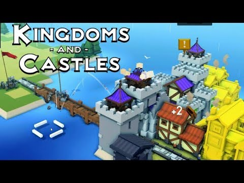 Kindoms & Castles | Vikings!? | First Impressions Gameplay!