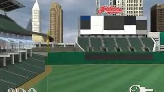 Promotional Video from High Heat Major League Baseball 2002 of Jacob's Field
