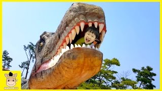 Indoor Playground Family Fun Play Area for kids, Baby Nursery Rhymes Song Dinosaur| MariAndKids Toys