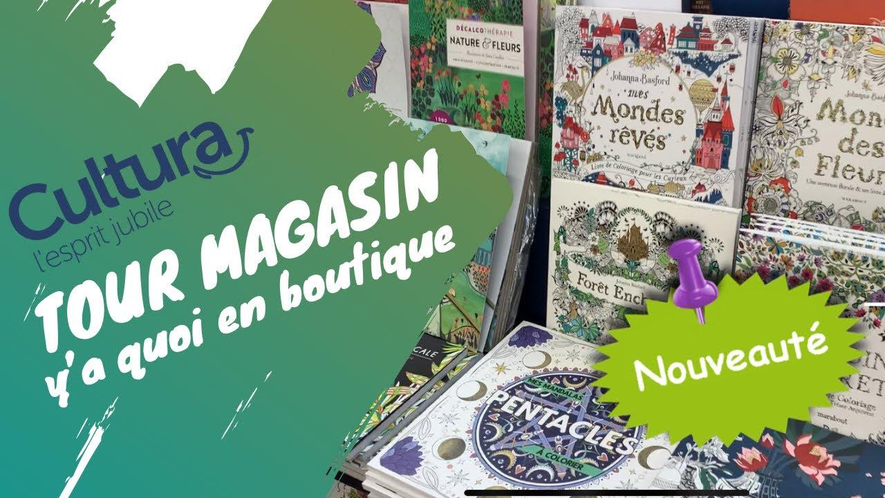 Tour magasin Cultura - livres de coloriage