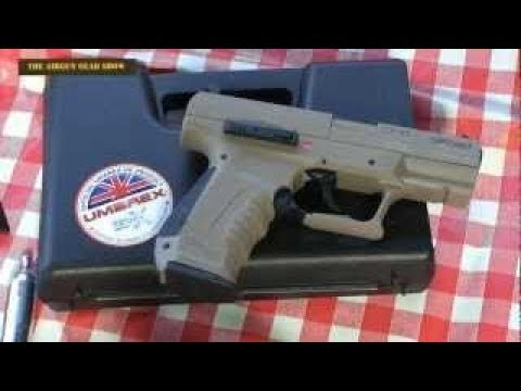 REVIEW: Walther CP99 Pistol CO2 Pistol Umarex