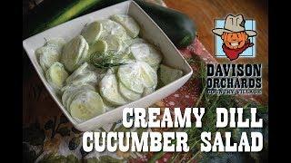 Family Recipes: Creamy Dill Cucumber Salad