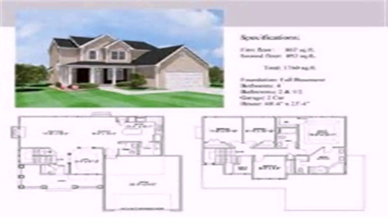 2 Story House Floor Plan With Dimensions