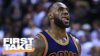 Is This Postseason LeBron James' Best Performance? | First Take | May 8, 2017