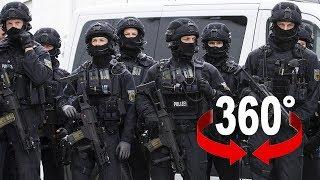 So geht die Polizei gegen Randalierer am G20-Gipfel vor I 360 Video