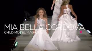 Mia Bella Cordova - Child Model Magazine Summer Fashion Parade 2016