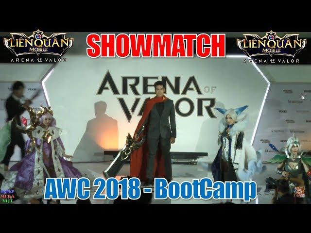 Đại chiến Siêu sao Liên quân mobile: World Cup liên quân 2018 - BootCamp tại Thái lan