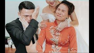 Mẹ vợ và con rể thi nhau kh,o'.c trong đám cưới khiến quan viên 2 họ ko hiêu chuyện gì