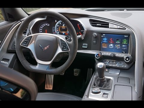 Corvette Grand Sport: Interior Tour & Review