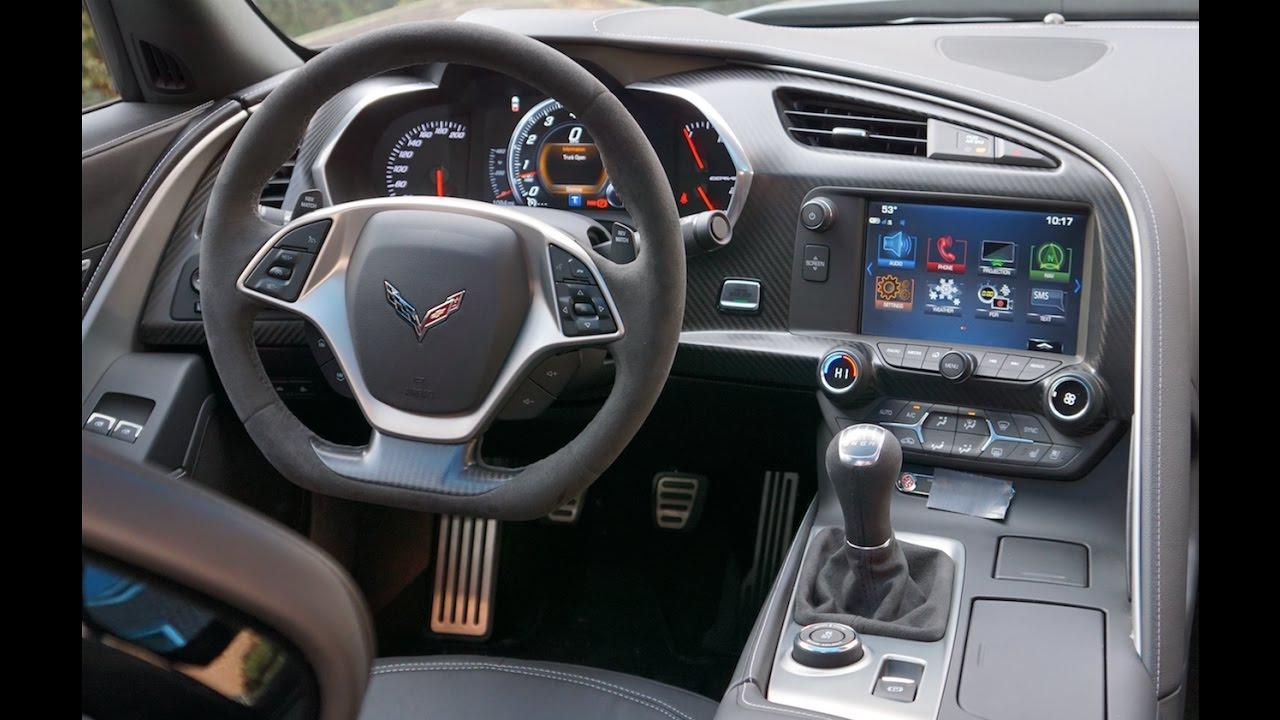 Corvette Grand Sport Interior Tour Amp Review Youtube