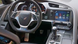 Corvette Grand Sport Interior Tour & Review