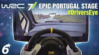 EPIC Portugal Stage // WRC 7 - DRIVER'S EYE