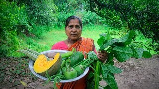 Vegetable Recipe: 9 Mixed Vegetable Cooking by Village Food Life