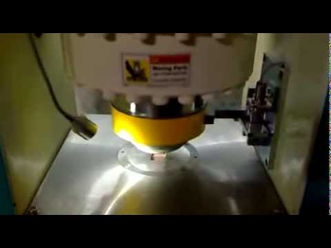 gold & silver coin making machine
