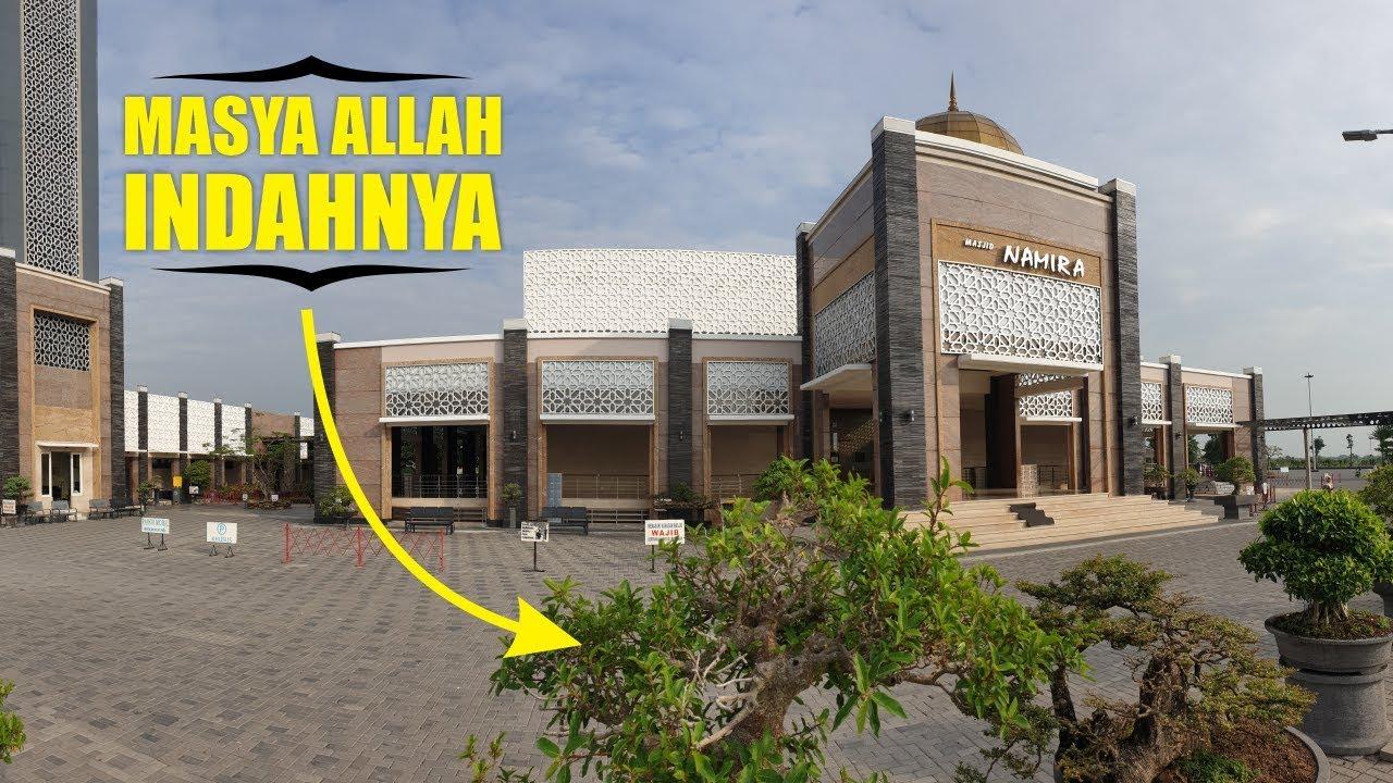 Melihat Bonsai Di Masjid Namira Lamongan Video Masjid Namira