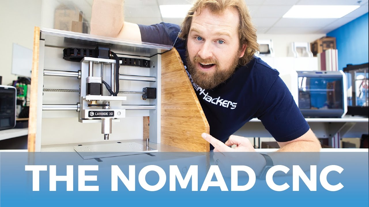 Carbide 3D Nomad 883 Pro CNC Machine // Product Review & Highlights