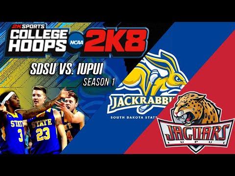 South Dakota St. vs. IUPUI | S1 - EP. 16 | College Hoops 2k8 Legacy Mode