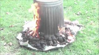 How To Make A Thanksgiving Garbage Can Turkey.  Must See! The Original