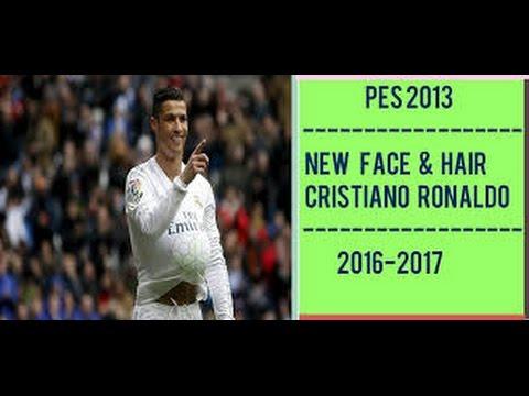 Pes New Face Hair Cristiano Ronaldo YouTube - New face hair cristiano ronaldo pes 2013