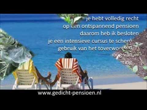 Top Vrouw pensioen gedichten en teksten bij afscheid - YouTube &HI69