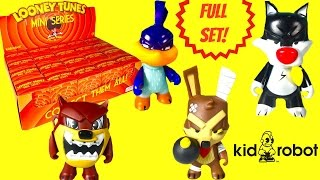 KIDROBOT Looney Tunes Full Case Blind Boxes Opening! Wacky Weds.! Bugs Bunny Tasmanian Devil