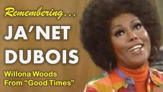 Remembering Ja'Net Dubois - Star of TV's