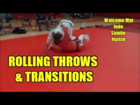 ROLLING THROWS & TRANSITIONS Rolling Leglock, Uchi Mata, Yoko Wakare And Ude Gaeshi