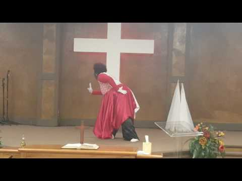 Ministry in dance to Clean  Natalie Grant