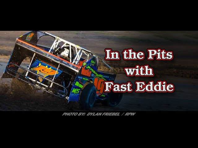 In the Pits with Fast Eddie Jessey Mueller Win Interview