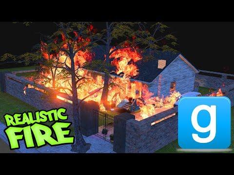 Realistic FIRE that REALLY Spreads in GMOD! | (vFire - Dynamic Fire for Garrys Mod)