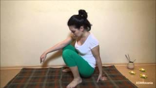 ASMR/АСМР (HD. Russian): Кундалини Йога. Индивидуальное занятие (Yoga. Individual training)