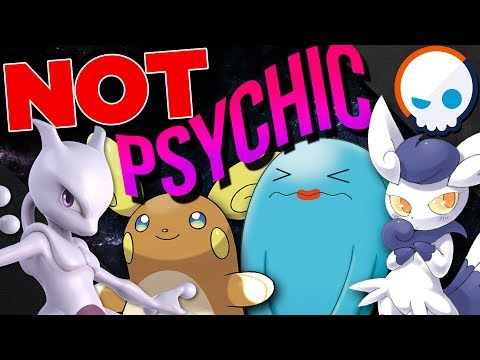EVERY Psychic Type Pokemon EXPLAINED! | Gnoggin