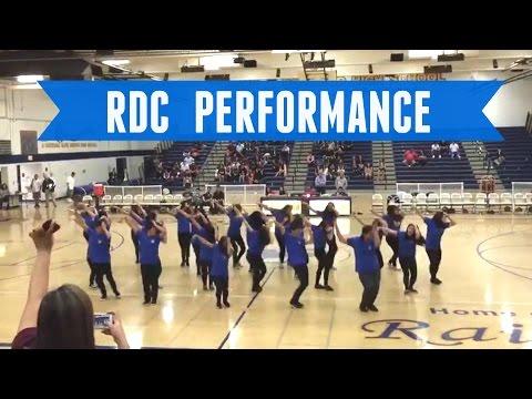 "Uptown Funk Choreography - Rowland HighSchool ""RDC"" Performance"