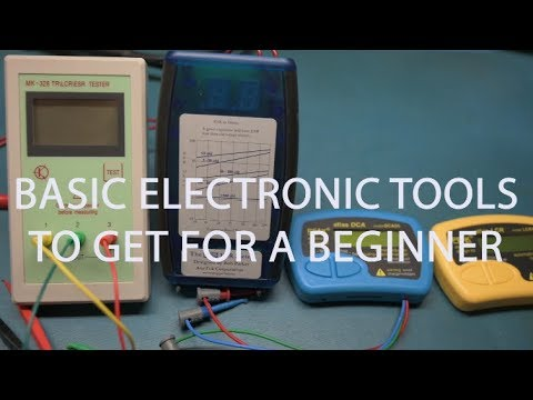 Basic Electronics Tools For A Beginner.