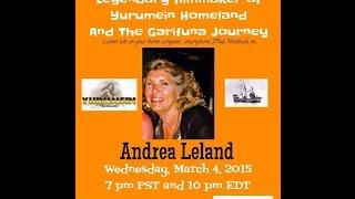 Garifuna Music & Talk With DJ Labuga Presents Andrea E  Leland