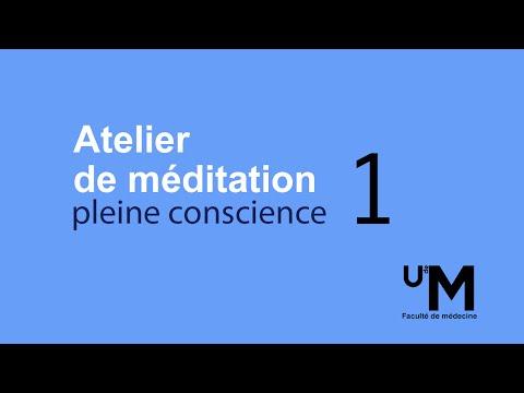 Atelier 1 : Introduction à la méditation et s'ouvrir à l'expérience de l'instant présent