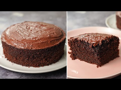 Chocolate Cake Recipe Without Cocoa Powder Eggless Without Oven Yummy