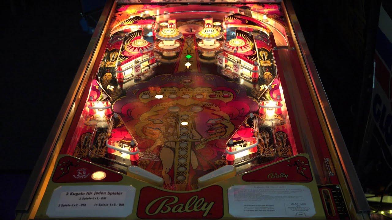 mata hari pinball machine