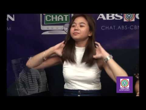 Miles Ocampo in Kapamilya Chat's Caption This Challenge