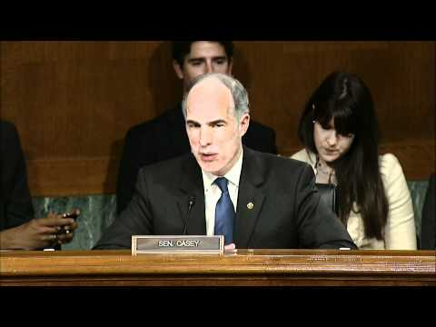 At Hearing, Casey Calls Protecting Children Moral Responsibility of All Adults