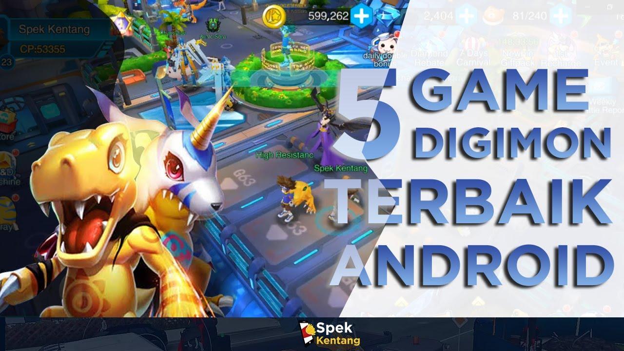 5 Game Digimon Terbaik di Android 2019