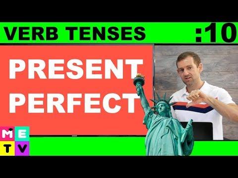 Present Perfect Verb Tense