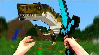 Таинственный Остров #1: Тиранозавр - Майнкрафт в Реальности