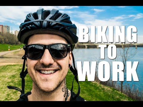 SHOULD I BIKE TO WORK? - #DunnaVlog 13