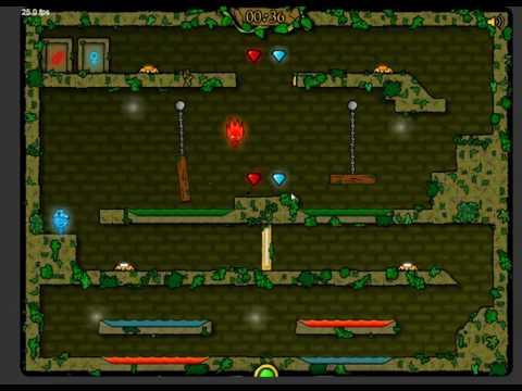 Игра огонь и вода №2 Игры для детей