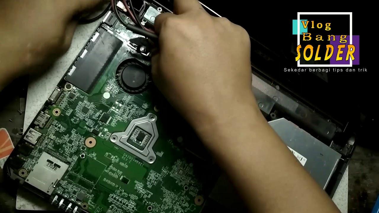 laptop acer aspire e1 431 layar mati / dead screen